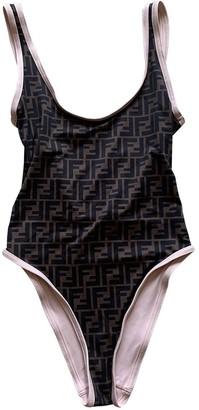 Fendi Brown Lycra Swimwear for Women