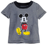 Disney Mickey Mouse Striped Tee for Baby
