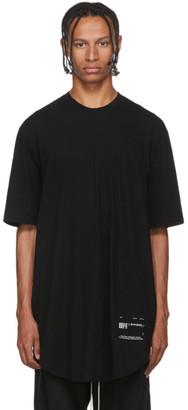 Julius Black Draped T-Shirt