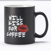 Clay Art Kiss for Coffee 14-oz. Coffee Mug