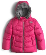 The North Face 'Polar' Water Repellent Down Parka (Toddler Girls & Little Girls)