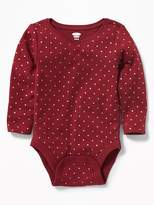 Old Navy Patterned Bodysuit for Baby