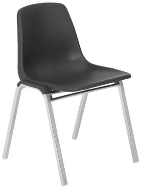 """18"""" Classroom Chair National Public Seating Seat Color: Black"""
