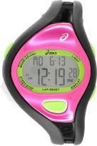 Asics Black/Pink Ar05 Runner Womens Multicolor Strap Watch-Cqar0509y