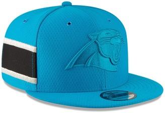 New Era Youth Light Blue Carolina Panthers 2018 NFL Sideline Color Rush 9FIFTY Snapback Adjustable Hat
