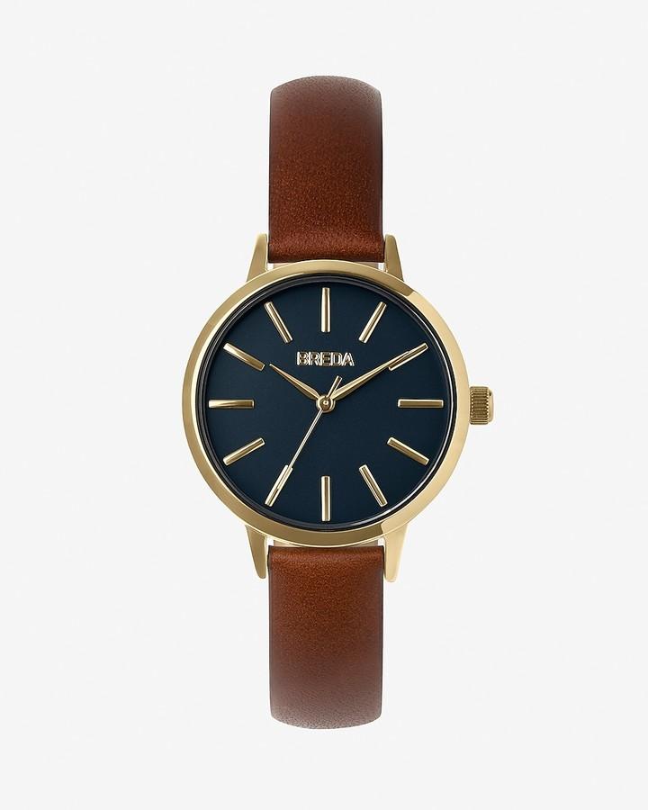 Express Breda Petite Brown Joule Watch