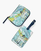 Parisian Girls Case With Luggage Tag