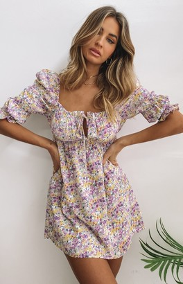 SNDYS Sicily Dress Lilac Floral