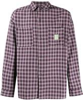 Societe Anonyme x Bevilaqua check print shirt