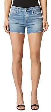 Hudson Gemma Cutoff Denim Shorts in Worn Lullaby