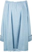 Marques Almeida Marques'almeida - chambray oversize dress - women - Cotton - M