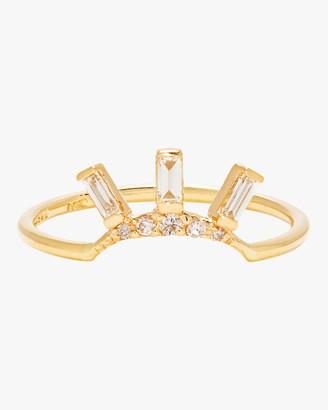 Scosha Tiny Diamond Crown Ring