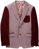 Isaac Mizrahi Color Block Knit Blazer (Toddler, Little Boys, & Big Boys)