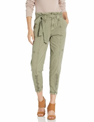 Blank NYC womens60R-1884Cargo Trousers Pants - Green - 27