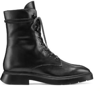 Stuart Weitzman McKenzee Boot - Black Leather