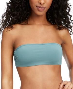 Roxy Swim in Love Colorblocked Bandeau Bikini Top Women's Swimsuit