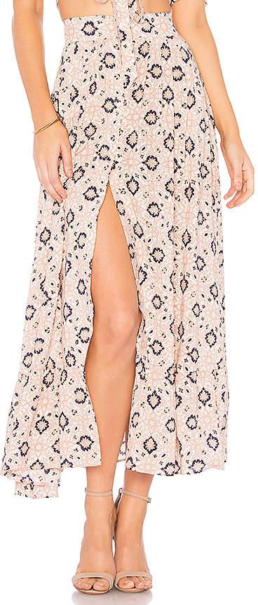Nightcap Clothing Moroccan Tile Skirt