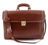 Dream Leather Bags Made in Italy Genuine Leather Leather Briefcase Color