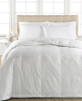 Spring Air Active Cool Moisture Wicking Down Alternative Full/Queen Comforter, 100% Cotton Cover
