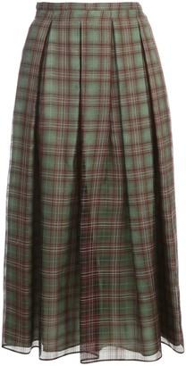 Aspesi Pleated Long Skirt