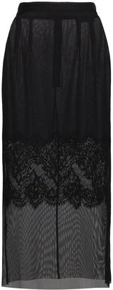 Dolce & Gabbana Layered lace pencil skirt