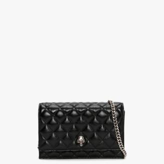 Alexander McQueen Mini Skull Black Shoulder Bag