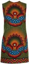 Valentino Enchanted Wonderland crepe mini dress