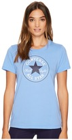 Converse Core Solid Short Sleeve Core Patch Crew Tee Women's T Shirt