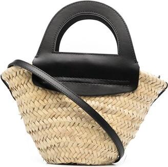 Hereu Small Straw Tote Bag