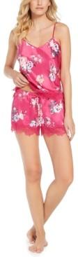 INC International Concepts Inc Women's Cami Tank & Shorts Pajama Set, Created for Macy's