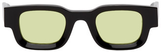 Rhude Black and Yellow Thierry Lasry Rhevision Edition 101 Sunglasses