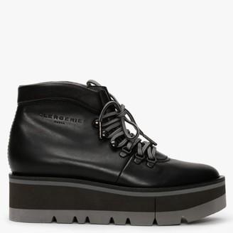 Clergerie Bubble Black Platform Walking Boots