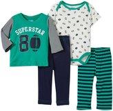 Bon Bebe Superstar 4 Piece Football Set (Baby)-Multicolor-3-6 Months