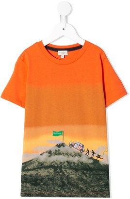 Paul Smith mountain peak T-shirt