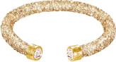Swarovski Crystaldust Cuff, Golden Crystal