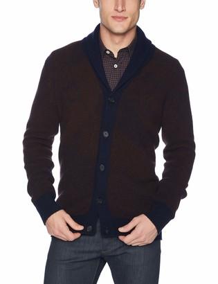Billy Reid Men's Long Sleeve Shawl Collar Cardigan Sweater