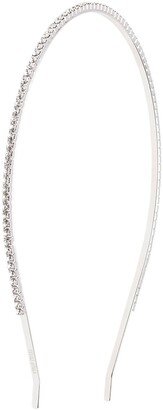 Miu Miu Thin Crystal Embellished Headband