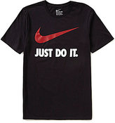 "Nike Sportswear ""Just Do It."" Swoosh Graphic Tee"