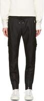 Black Multi-pocket Cargo Pants