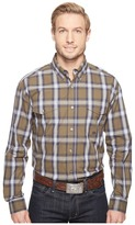 Roper 0554 Green River Plaid Button Men's Clothing