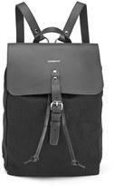 SANDQVIST Men's Alva Simple Backpack Black