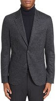 Lanvin Check Sport Coat with Solid Back