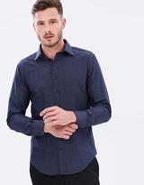 Van Heusen European Fit Pin Dot Shirt