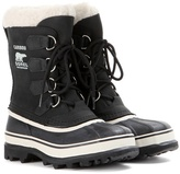 Sorel Caribou leather and rubber boots