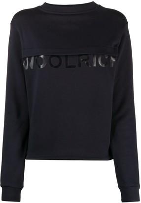 Woolrich Logo Crew-Neck Sweatshirt