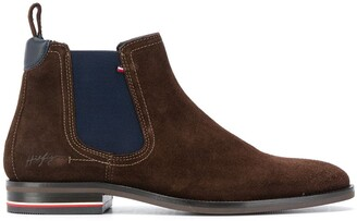 Tommy Hilfiger Elasticated Ankle Boots