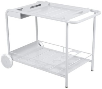 Fermob Luxembourg Bar Serving Cart Frame Color: White