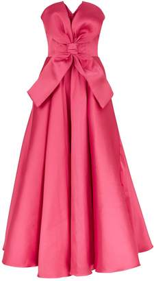 Alexis Mabille Strapless Bow Front Dress