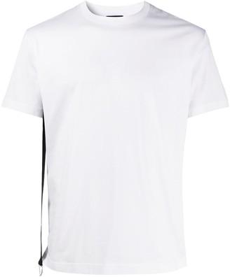 Les Hommes belt strap T-shirt