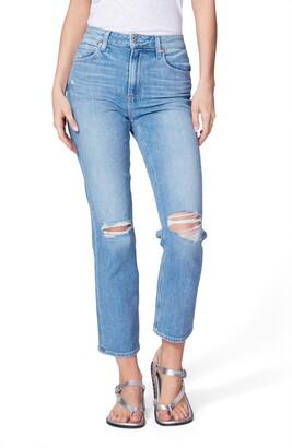 Paige Sarah High Waist Ripped Skinny Jeans